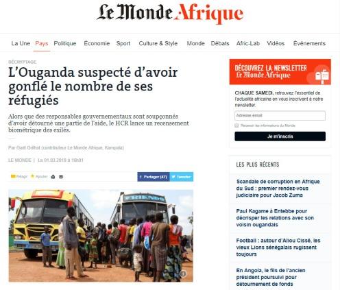 ouganda refugies